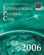 2006 International Plumbing Code, 1st Edition, 978-1-58001-259-1