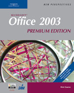 New Perspectives on Microsoft Office 2003, First Course, Premium Edition, 3rd Edition, 978-1-4188-6076-9