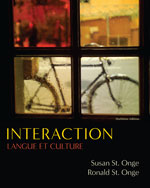 Bundle: Interaction: Langue et culture, 8th + Answer Key with Lab Audio Script + Workbook with Lab Manual + Lab Audio CD-ROMs, 978-0-538-45903-7