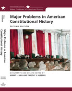 Major Problems in American Constitutional History: Documents and Essays, 2nd Edition, 978-0-618-54333-5