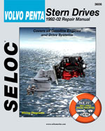 Volvo-Penta Stern Drives, 1992-2002, 1st Edition, 978-0-89330-057-9
