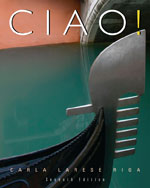 Student Activities Manual for Riga/Lage's Ciao!, ISBN-13: 978-1-4390-8364-2