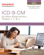 ICD-9-CM Expert for Home Health Volumes 1, 2 & 3 2011, 1st Edition, 978-1-60151-395-3