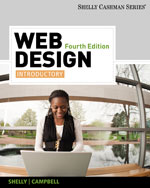 Web Design: Introductory, 4th Edition, 978-0-538-48240-0