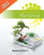 Marketing CourseMate with eBook Instant Access Code for Boone/Kurtz's Contemporary Marketing, 2013 Update, 15th Edition, 978-1-111-96720-8