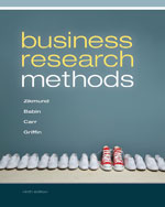 Business Research Methods (with Qualtrics Printed Access Card), 9th Edition, 978-1-111-82692-5