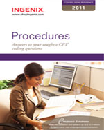 Coder's Desk Reference for Procedures 2011, 1st Edition, 978-1-60151-412-7