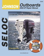 Johnson Outboards 2002-2007, 1st Edition, 978-0-89330-072-2