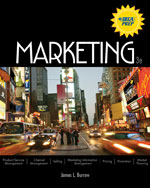 Activities and Study Guide for Burrow's Marketing, 3rd, ISBN-13: 978-0-538-44665-5