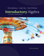 Student Solutions Manual for Kaseberg/Cripe/Wildman's Introductory Algebra: Everyday Explorations, 5th, ISBN-13: 978-1-133-36398-9