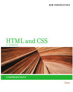 New Perspectives on HTML and CSS: Comprehensive, 6th Edition, 978-1-111-52644-3