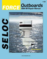 Force Outboards, All Engines, 1984-99, 1st Edition, 978-0-89330-055-5
