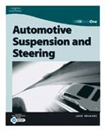TechOne: Suspension & Steering, 1st Edition, 978-0-7668-1166-9
