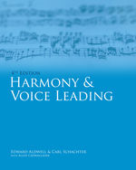 Bundle: Harmony and Voice Leading, 4th + Premium Web Site with Electronic Workbook, Volume 1 and 2 Printed Access Card + Audio CD-ROM, 978-1-111-65453-5