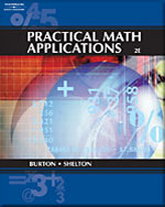 Practical Math Applications, 2nd Edition, 978-0-538-72772-3