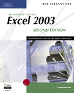 New Perspectives on Microsoft Office Excel 2003, Comprehensive, Second Edition , 2nd Edition, 978-0-619-26815-2
