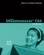 Adobe® Dreamweaver® CS4: Introductory Concepts and Techniques, 1st Edition, 978-0-324-78833-4