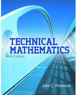 Technical Mathematics, 4th Edition, 978-1-111-54046-3