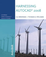 Harnessing AutoCAD® 2008, 1st Edition, 978-1-4283-1156-5