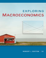 Bundle: Exploring Macroeconomics, 5th + WebTutor™ ToolBox for Blackboard® Printed Access Card, 978-1-111-61914-5