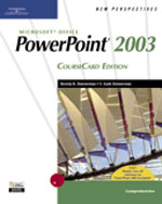 New Perspectives on Microsoft Office PowerPoint 2003, Comprehensive, CourseCard Edition, 1st Edition, 978-1-4188-3914-7