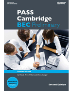 PASS Cambridge BEC Preliminary, 2nd Edition, 978-1-133-31320-5
