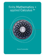 Bundle: Finite Math and Applied Calculus, 5th + Student Solutions Manual, 978-1-111-07333-6