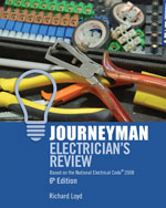 Journeyman Electricians Review: Based on the National Electrical Code 2008, 6th Edition, 978-1-4180-5283-6