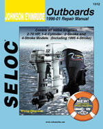 Johnson/Evinrude Outboards, All In-Line Engines, 2-4 Stroke, 1996-01, 1st Edition, 978-0-89330-052-4