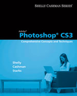 Adobe Photoshop CS3: Comprehensive Concepts and Techniques, 1st Edition, 978-1-4239-1238-5