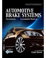 Today's Technician: Automotive Brake Systems, Classroom and Shop Manual, 5th Edition, 978-1-4354-8655-3