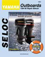Yamaha Outboards 19841996 2 & 4 Stroke , 1st Edition, 978-0-89330-064-7