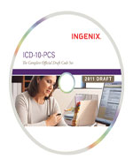 ICD-10-PCS: The Complete Official Draft Code Set (eBook on CD-ROM), 2011 Draft, 1st Edition, 978-1-60151-485-1