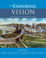 The Enduring Vision: A History of the American People, 6th Edition, 978-0-618-80159-6