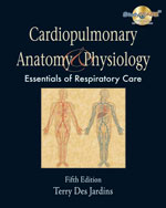 Cardiopulmonary Anatomy & Physiology, 5th Edition, 978-1-4180-4278-3