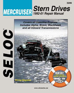 Mercruiser Stern Drives 1992  2000, 1st Edition, 978-0-89330-053-1
