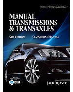 Today's Technician: Manual Transmissions and Transaxles Classroom Manual and Shop Manual, 5th Edition, 978-1-4354-3933-7