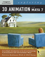 Exploring 3D Animation With MAYA 7, 2nd Edition, 978-1-4180-5182-2