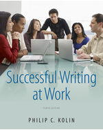 Successful Writing at Work, 10th Edition, 978-1-111-83479-1