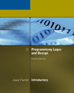 Programming Logic and Design, Introductory, Fourth Edition, 4th Edition, 978-1-4188-3634-4