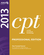 CPT Professional Edition 2013, 1st Edition, 978-1-60359-684-8