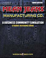 Mean Jeans Manufacturing Student Reference Book, 3rd Edition, 978-0-538-43204-7