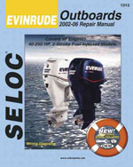 Evinrude Outboards 2002-2006 Repair Manual, 1st Edition, 978-0-89330-071-5