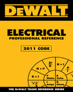DEWALT Electrical Professional Reference - 2011 Edition, 2nd Edition, 978-1-111-54514-7
