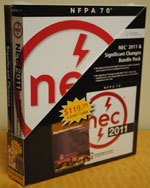 National Electrical Code 2011 Bundle Package: Including the NEC 2011 Softcover & Significant Changes to the NEC 2011 Edition, 978-0-8400-2225-7