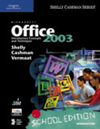 School Edition of Microsoft Office 2003: Introductory Concepts and Techniques, 1st Edition, 978-1-4188-5968-8