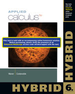 Applied Calculus, Hybrid, 6th Edition, 978-1-285-05640-1