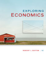 Bundle: Exploring Economics, 5th + WebTutor™ ToolBox for WebCT™ 2-Semester Printed Access Card, 978-1-111-61916-9