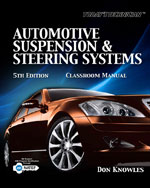 Today's Technician: Automotive Suspension & Steering Classroom Manual and Shop Manual, 5th Edition, 978-1-4354-8118-3