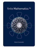 Bundle: Finite Mathematics, 5th + Enhanced WebAssign Homework with eBook Printed Access Card for One Term Math and Science, 978-1-111-61621-2